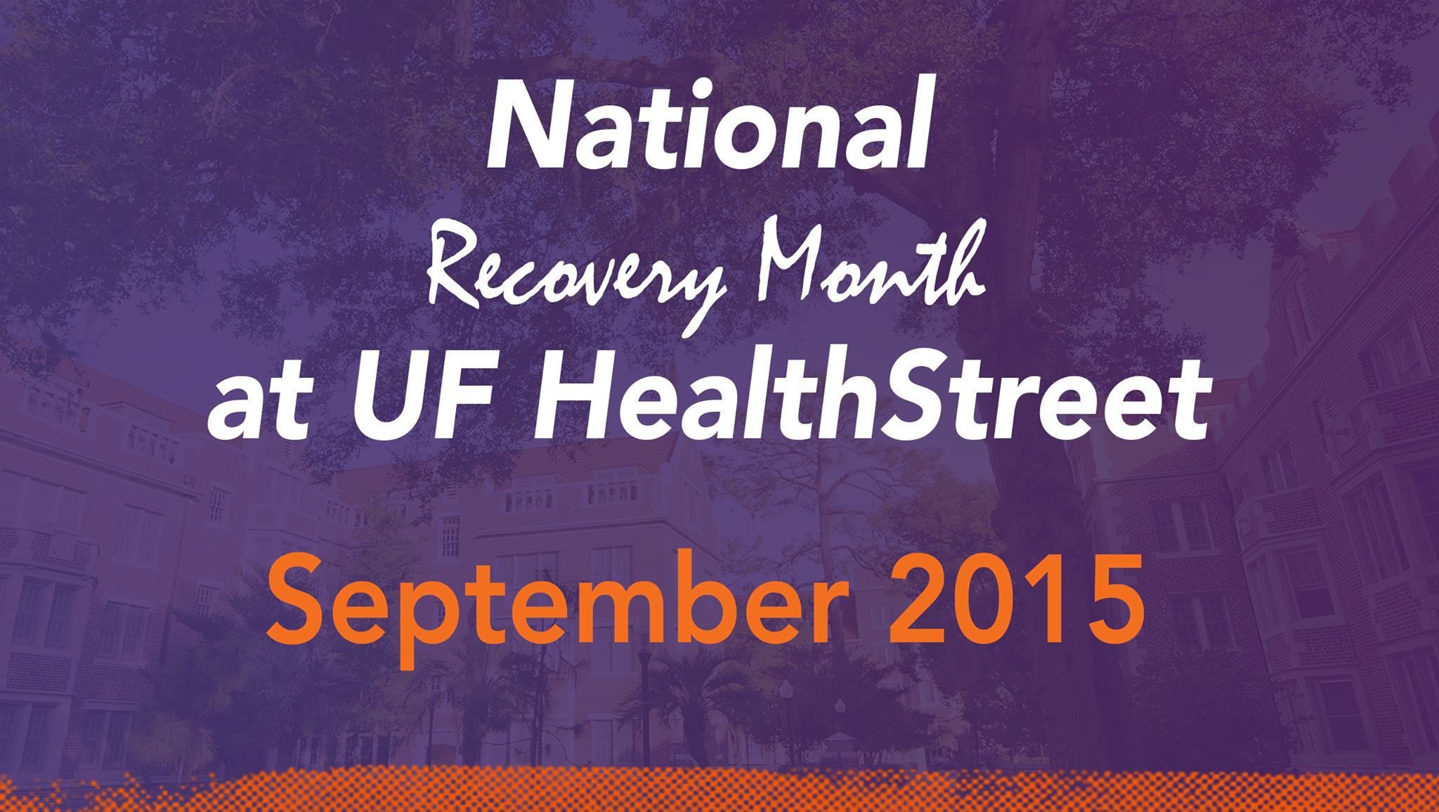 Recovery Month announcement