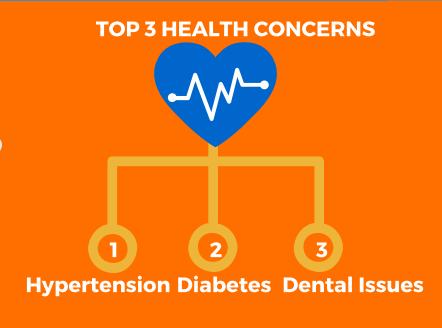 Top 3 Health Concerns