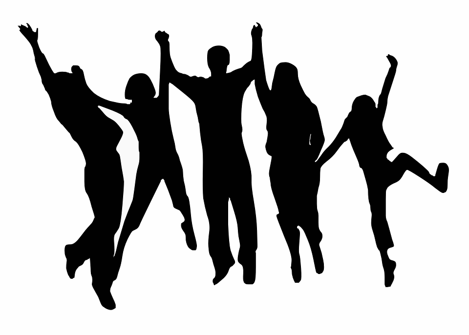 https://pixabay.com/en/cheering-happy-jumping-people-297419/