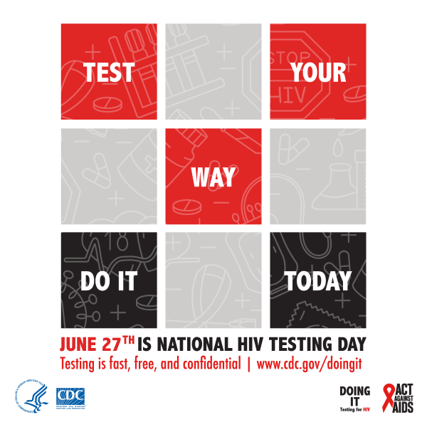 June 27th: National HIV Testing Day