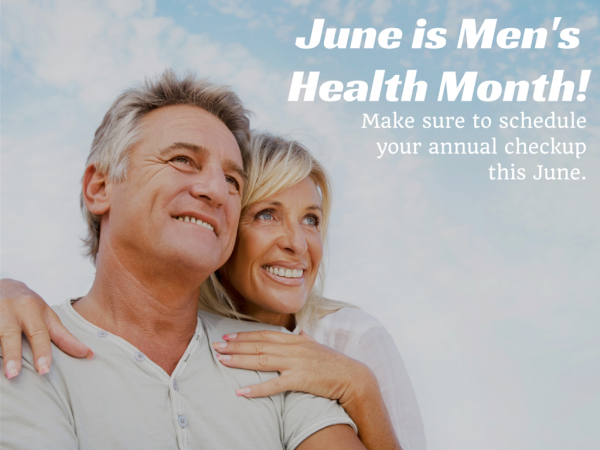 Men's Health Month: It Begins With a Trip to Your Physician