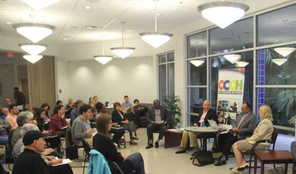 OCOH Audience and panel