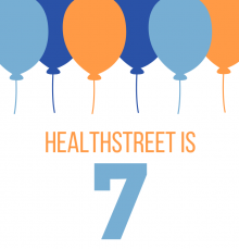 HealthStreet is 7! Celebrate with us Monday, December 3rd all around Gainesville!