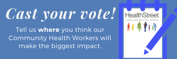 Tell us where you think CHWs will make the biggest impact