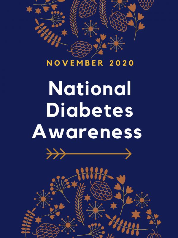 November 2020 National Diabetes Awareness