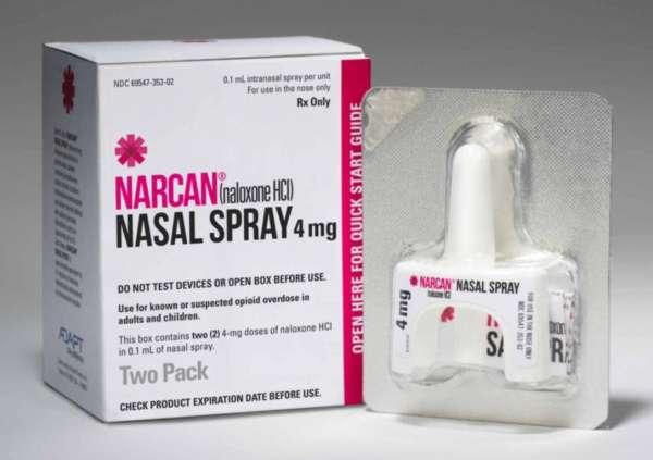 Narcan Spray Unit